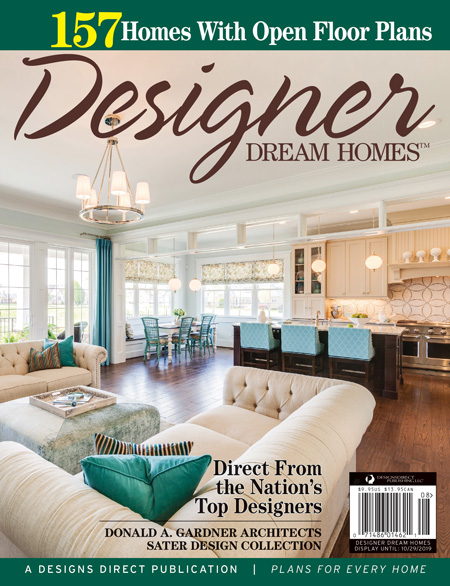 Designer Dream Homes Magazine Cover