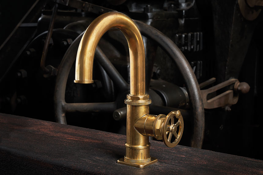 Steampunk Faucet - from California Faucets