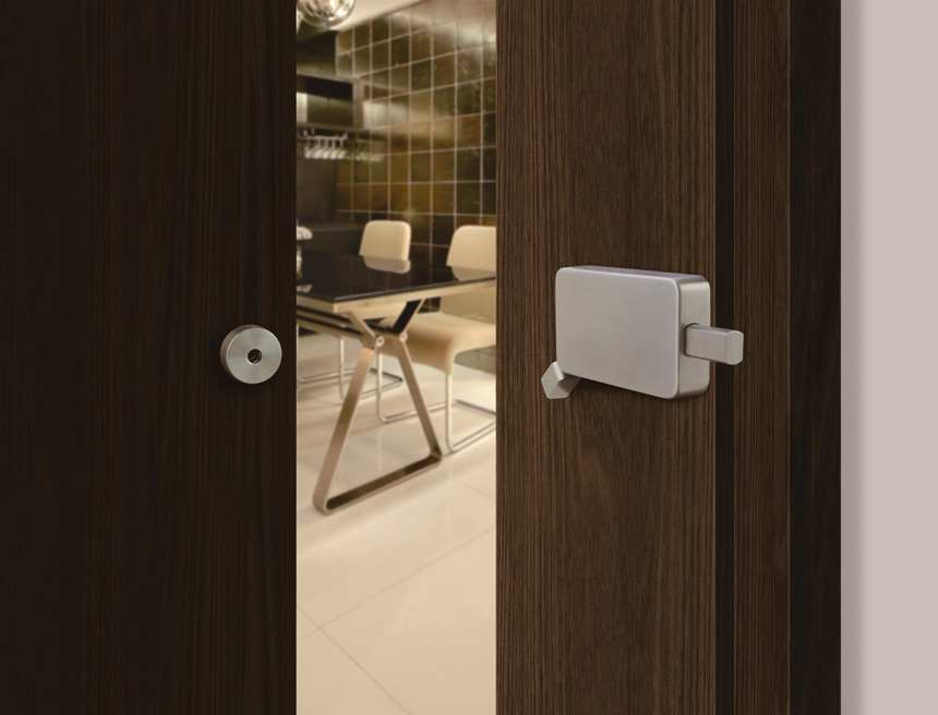 Barn Door Lock – INOX